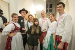"""Tradiční folklorní bál """"PO SŮSEDSKU"""" se konal 8. února v KPC Paskov."""